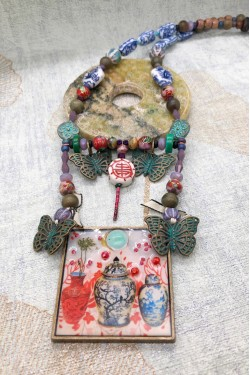 Collier MING PAPILLONS