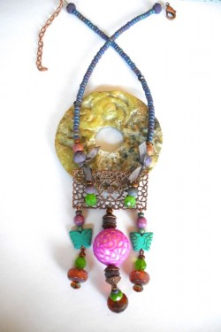 Collier Pompadour Rococo N°2