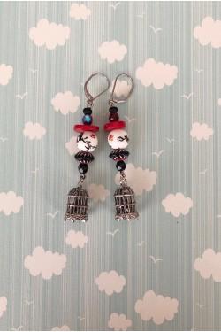 Boucles d'oreilles Japan N°4