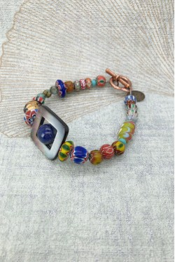 bracelet Tibet Nacre