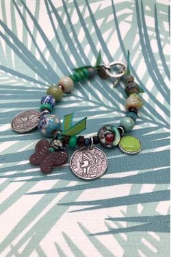 bracelet chinoiserie Papillon