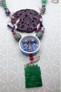 Bracelet Bleu Papillon